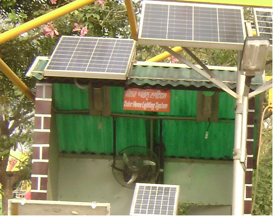 solar home lightning system - Image taken by Admin in 28th India International Trade Fare Delhi!