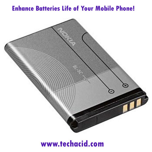 Enhance Battery Life of Your Mobile Phone
