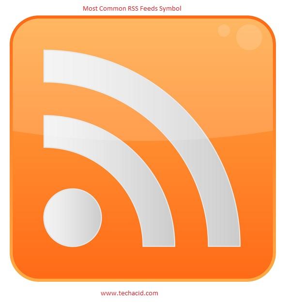 RSS feeds symbol