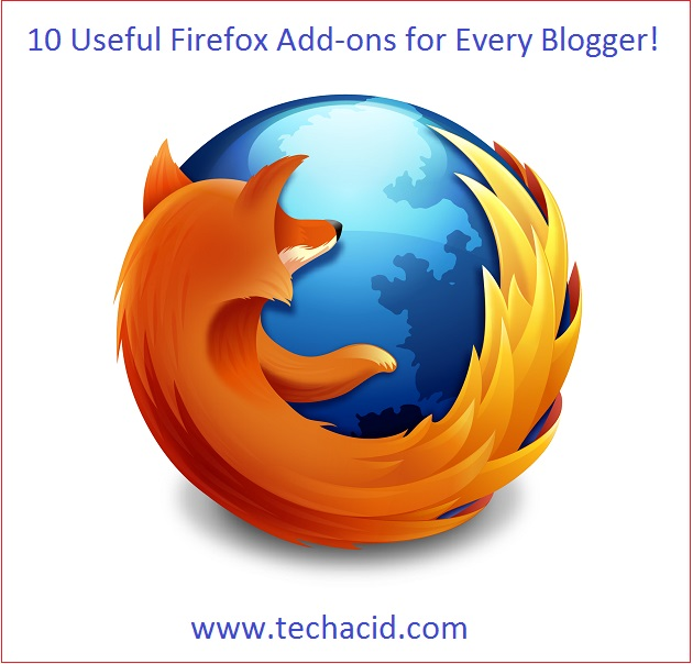10 Useful Firefox Add-ons for Every Blogger