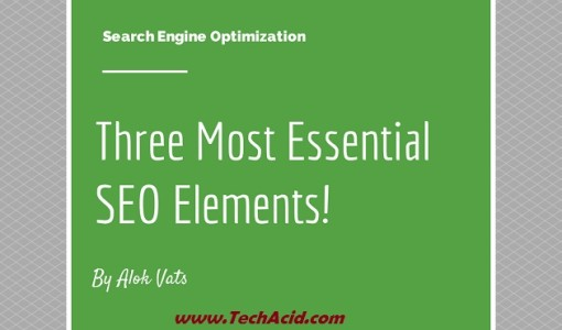 Essential SEO Elements for Our Website