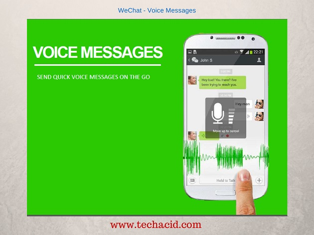 Voice Messages