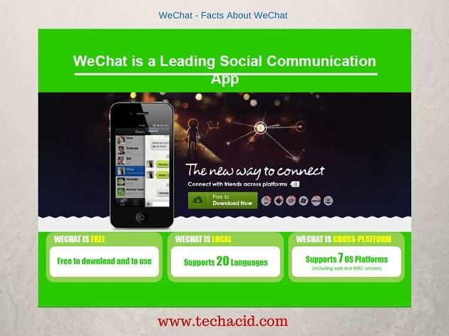 WeChat Details
