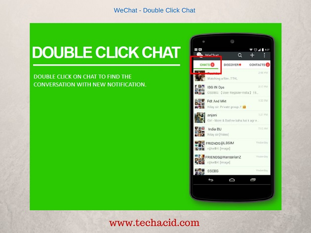 Double Click Chat