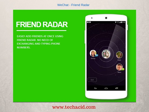 Friend Radar