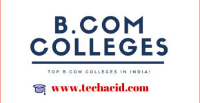 Top B.Com Colleges in India!