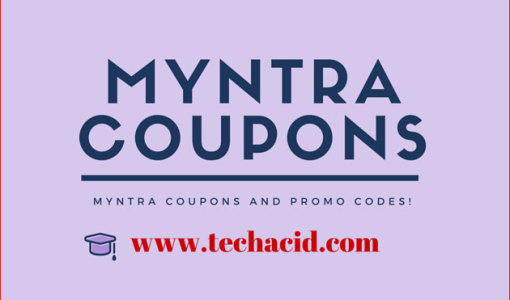 Myntra Coupons and Promo Codes!