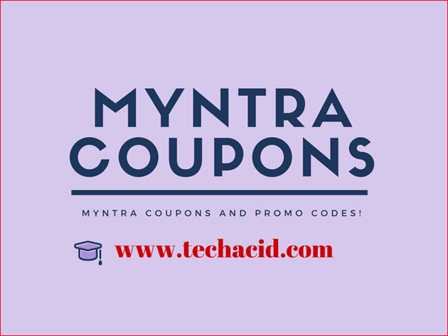 Discount coupons myntra
